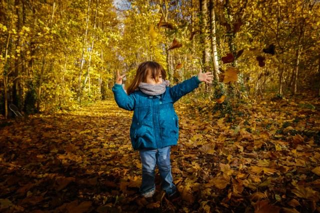 seance photo famille automne photographe enfant parc de sceaux antony haut de seine feuilles