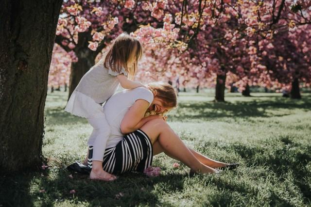 seance photo famille parc de sceaux cerisiers