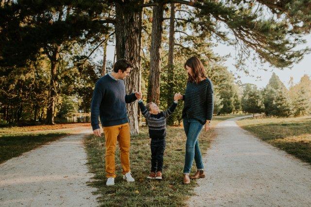 séance photographie famille bois de vincennes