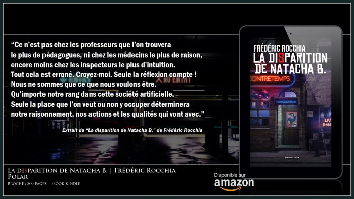 "Extrait de ""La disparition de Natacha B."""