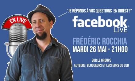 Je répondrai en direct à vos questions le 26 mai !