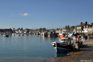 Barfleur - Another view of the port of Barfleur