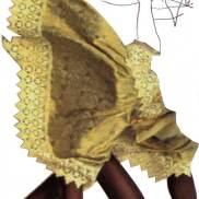Créature papillon, collage et graphite, Blaize
