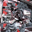 black, ghosts, collage, W. Klein, Blaize
