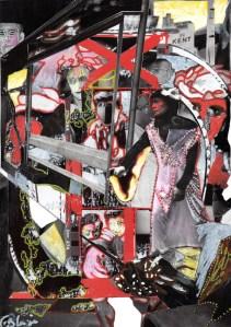 Willian Klein, mariage, collage, Blaize