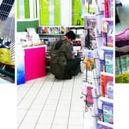 prière, supermarché, photographie, Blaize
