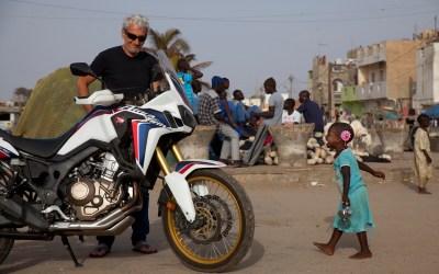 Une Africa Twin en Afrique
