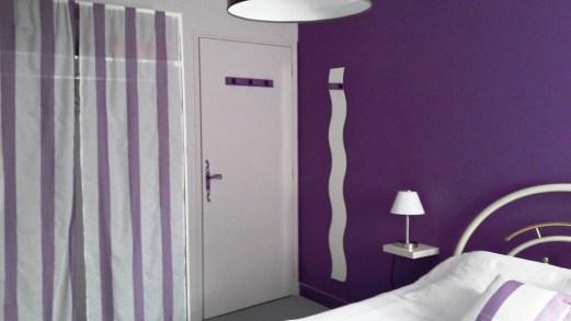 La chambre violette