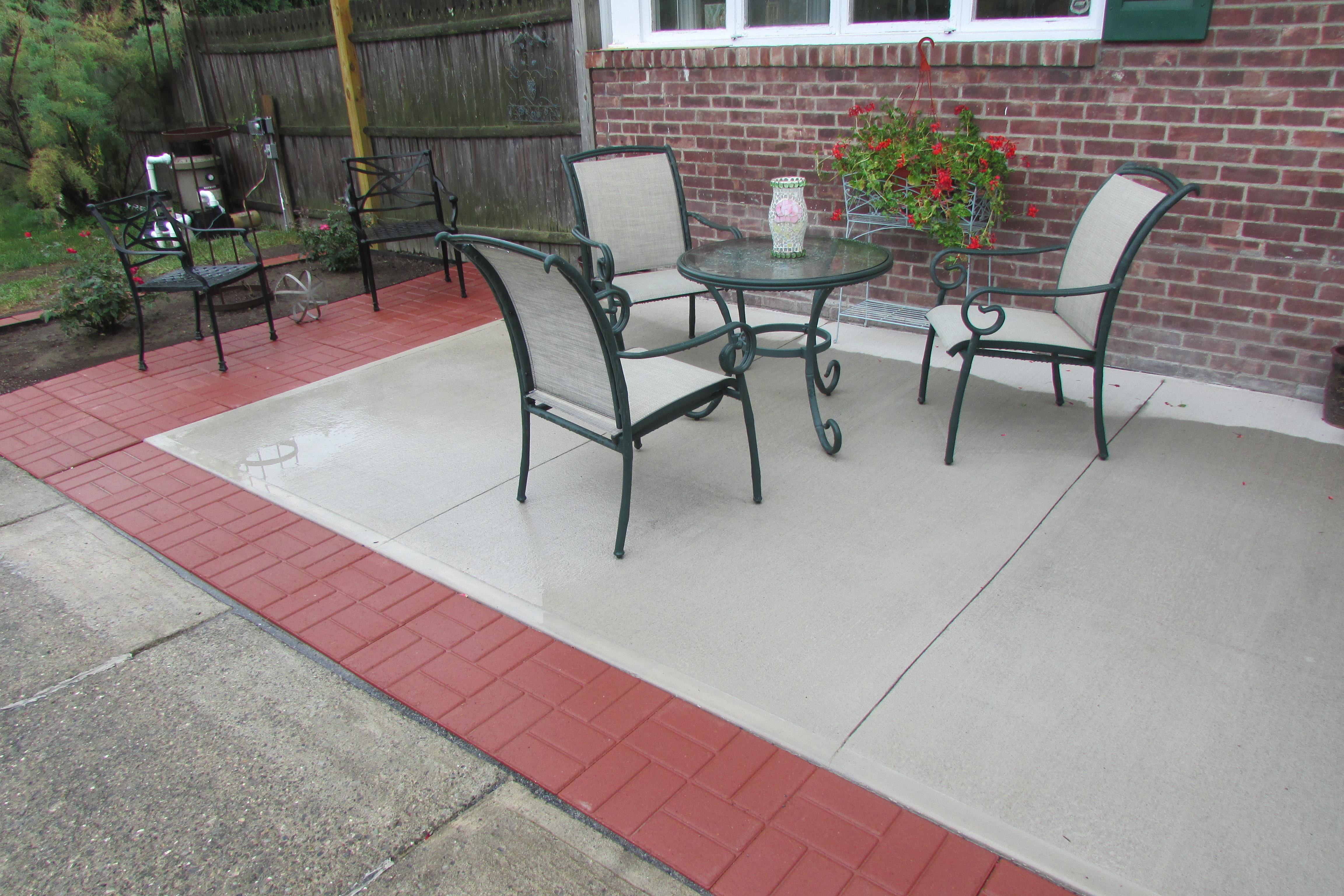 Fred Gonsowski Garden Home | Garden Design, Gardening and ... on Square Concrete Patio Ideas id=86253