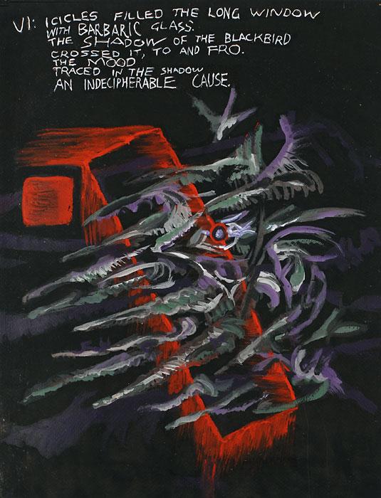 Blackbird VI, 1982, by Fred Hatt