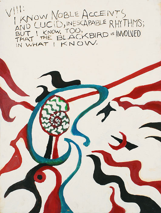 Blackbird VIII, 1982, by Fred Hatt
