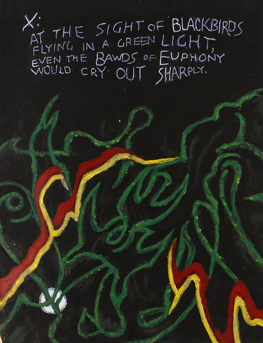 Blackbird X, 1982, by Fred Hatt