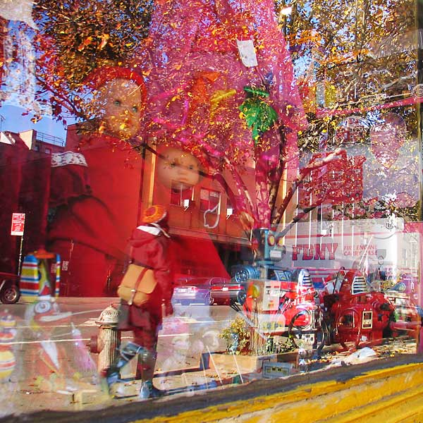 Toy Shop, 2008, photo by Fred Hatt