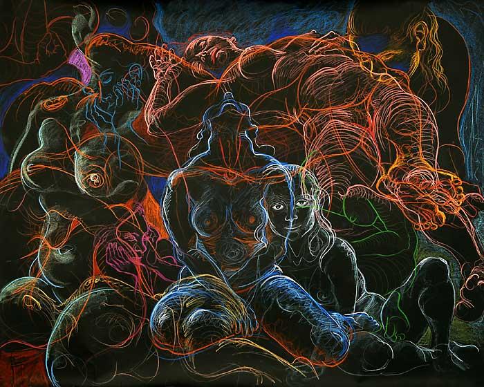 Gaze Angle, 2009, by Fred Hatt