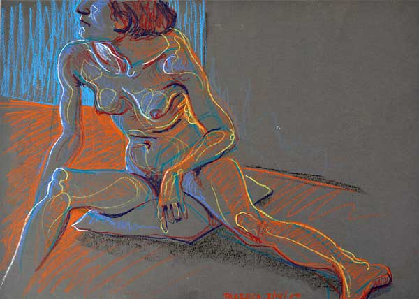 Theresa by Corner, 2009, by Fred Hatt