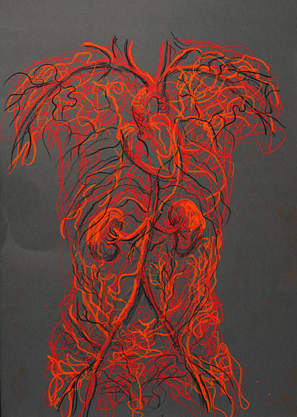 Torse Vessels, 2009, by Fred Hatt