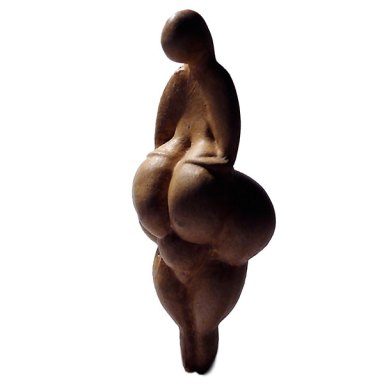 """Venus of Lespugue"", c. 23,000 BCE"
