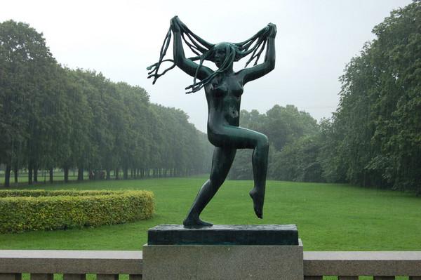 Gustav Vigeland, figure from Vigeland Park, Oslo, c. 1930