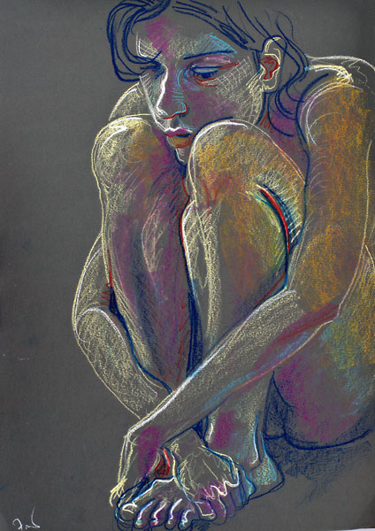 Tight Crouch, 2009, by Fred Hatt