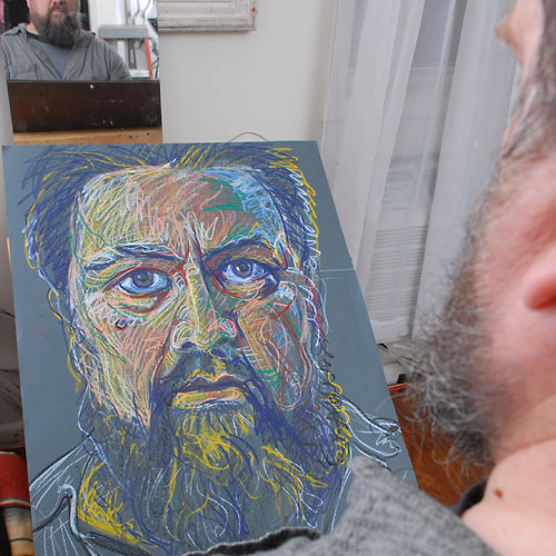 Self, 2009, by Fred Hatt, in progress at 37:30