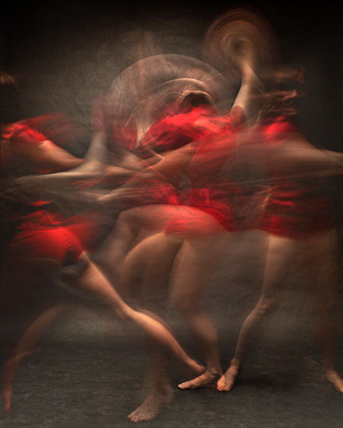 Motion (one from a series), 2012, photo by Bill Wadman