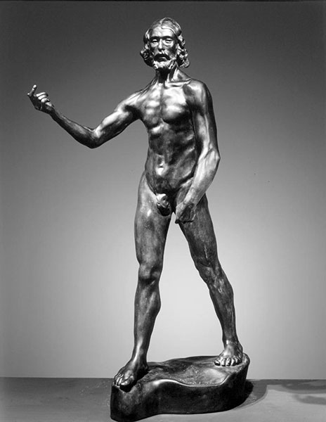 St. John the Baptist Preaching, 1878, by Auguste Rodin