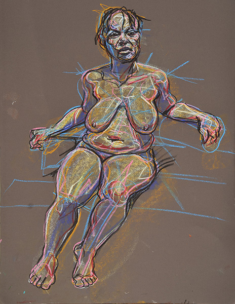 Sh About to Rise, sketch version, 2013, by Fred Hatt