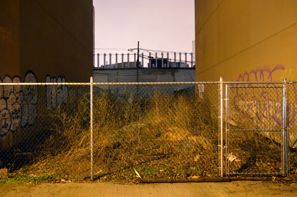 Vacant Lot at Night, 2013, photo by Fred Hatt