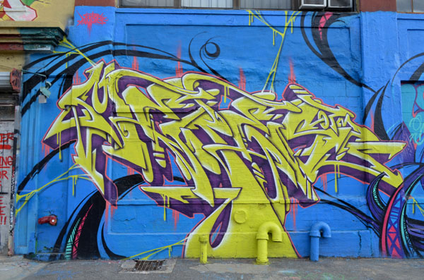 Mural by Meres One, 5 Pointz, photo by Fred Hatt