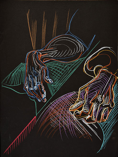 Two Hands, 2013, by Fred Hatt