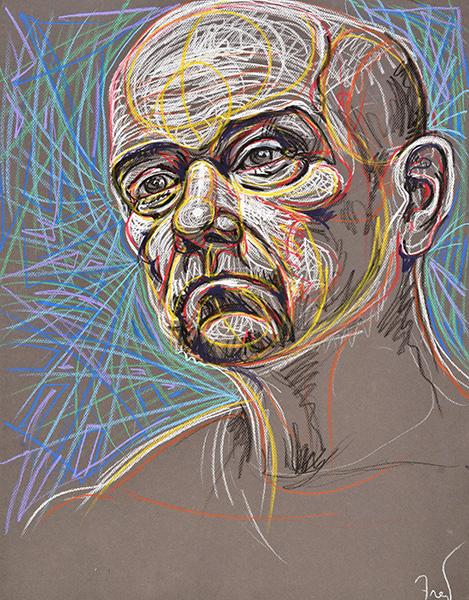 Painter, 2014, by Fred Hatt