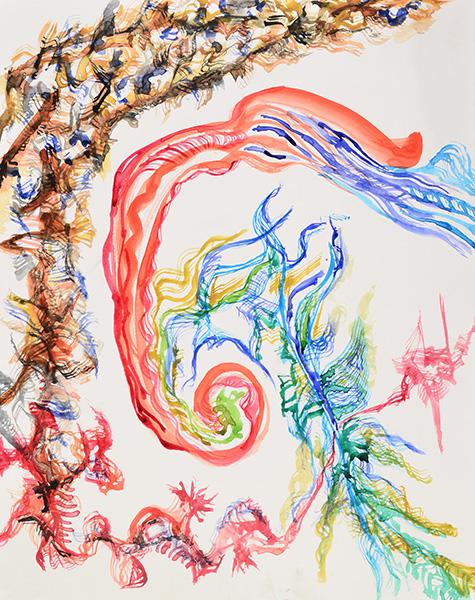 Growth Spurt, 2014, by Fred Hatt