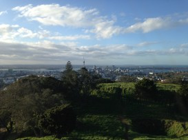 Auckland vom Mount Eden aus