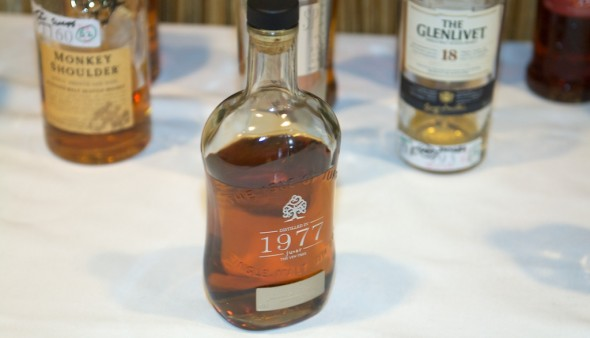 Jura 35-year-old Single Malt Scotch 1977 won Best Scotch Whisky and Best Whisk(e)y.