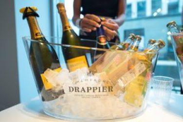 Masculin Center x Tesla Lausanne x Champagne Drappier