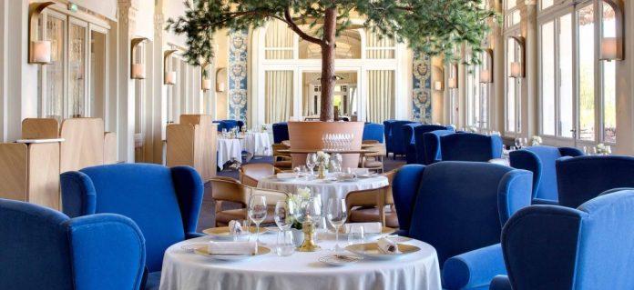 Restaurant Les Fresques Hôtel Royal - crédit Evian Resort