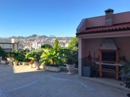 Loft Glamour Mangue-Ananas à Porto : Jardin et Barbecue