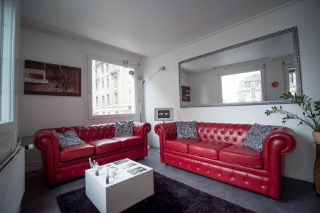 Masculin Center Lausanne : Salle d'attente