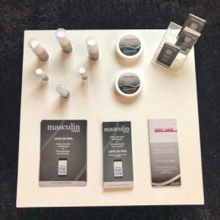 Masculin Center Lausanne : Gamme de produits MenLine