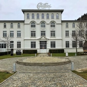 Maison Cailler : Façade de la chocolaterie
