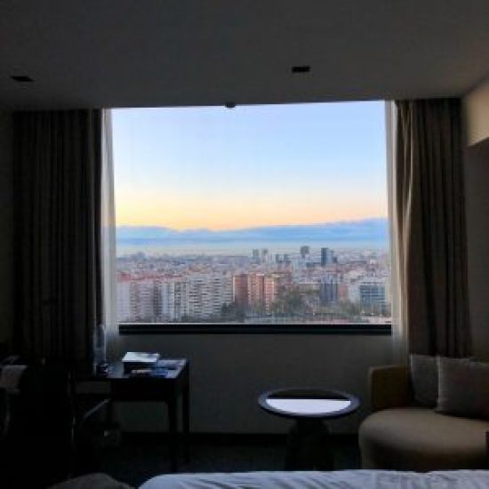 Hotel Fairmont Rey Juan Carlos I à Barcelone, Vue depuis Chambre sur Barcelone