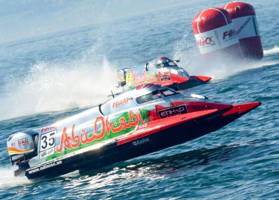 F1 H2O - Bateaux équipe Abu Dhabi