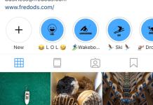 Instagram - Profil