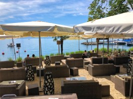 Besame Mucho - Vue sur le lac Léman et la plage privée Bikini Beach