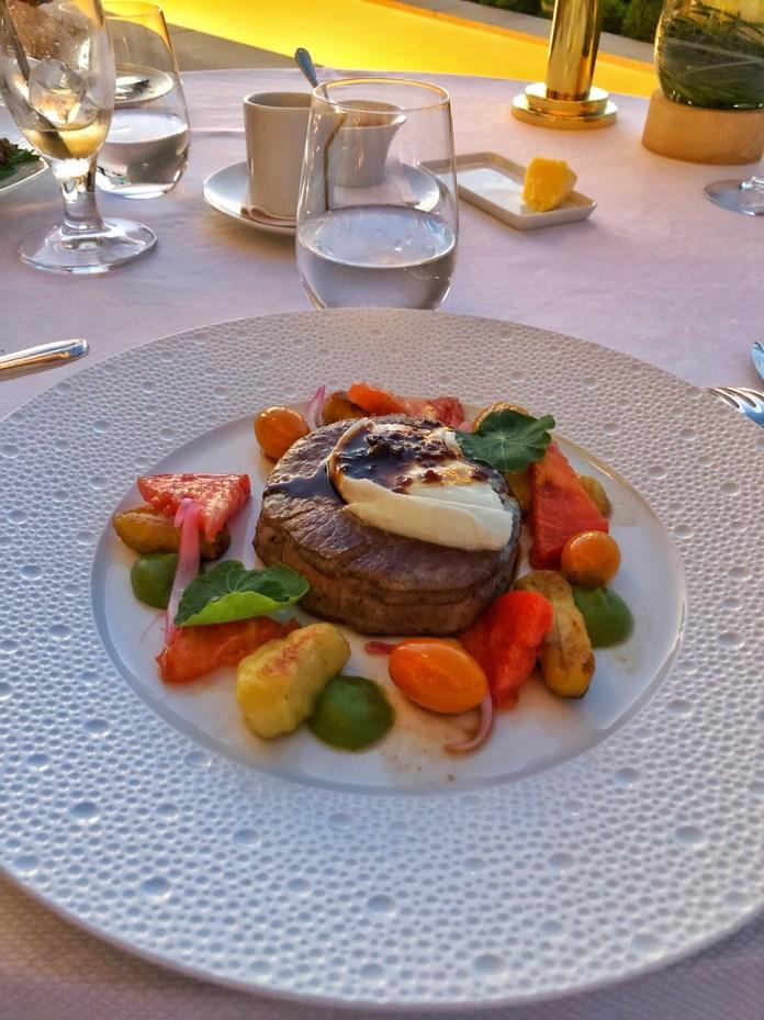 Restaurant Les Fresques - Plat Filet de Boeuf