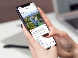 Comment faire des retours à la ligne sur Instagram : Compte Fredods