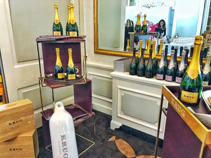 Discovery Day 2018 : Stand Champagne Krug