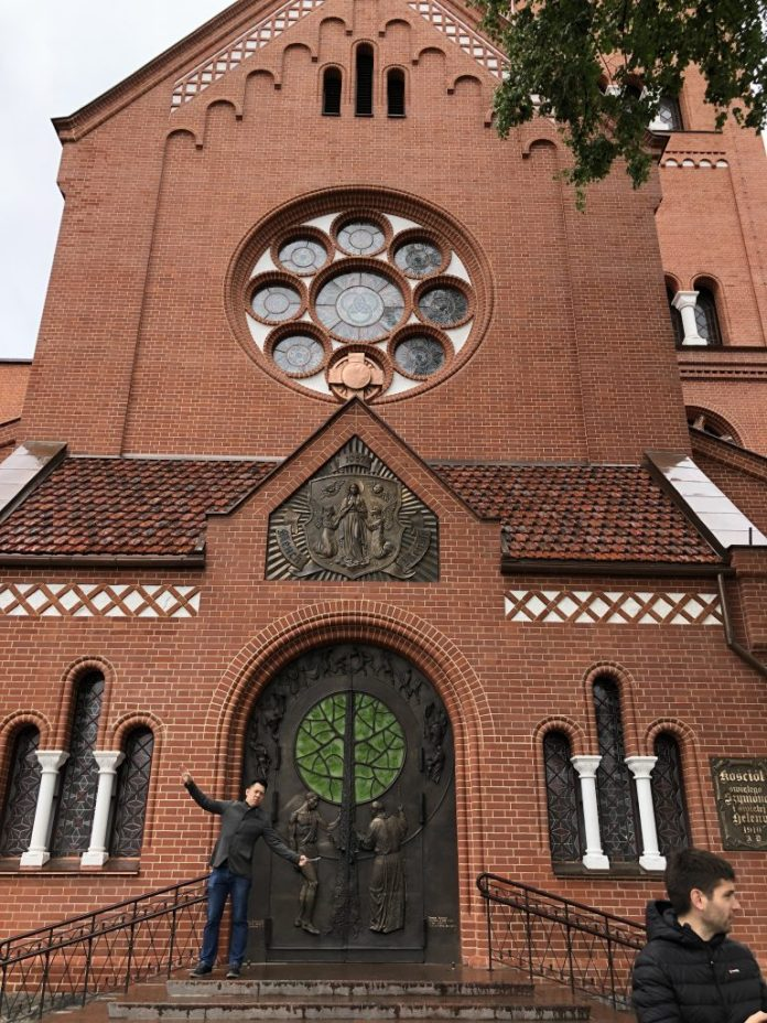 Minsk : Église Saint-Siméon-et-Sainte-Hélène