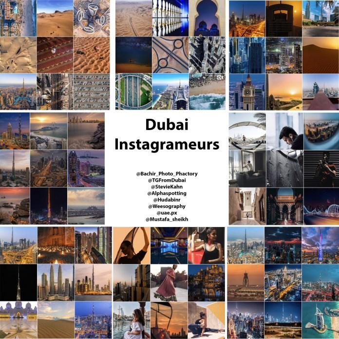 Dubai Instagramers