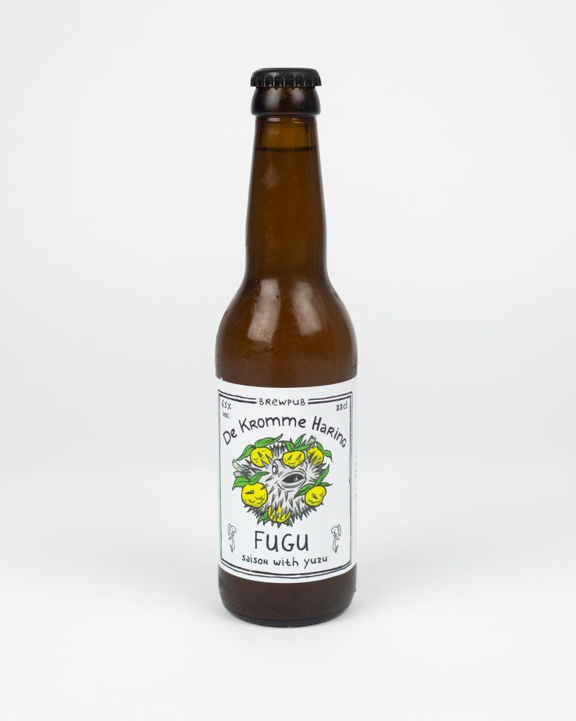 Fugu bier De Kromme Haring product fotografie